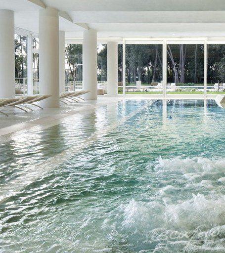 Wellness im UNA Hotel Versilia. Lido di Camaiore, Toskana Italien