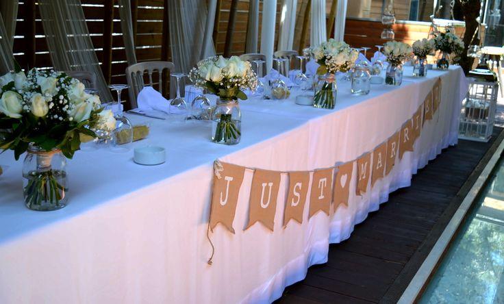 Νυφικό τραπέζι γάμου