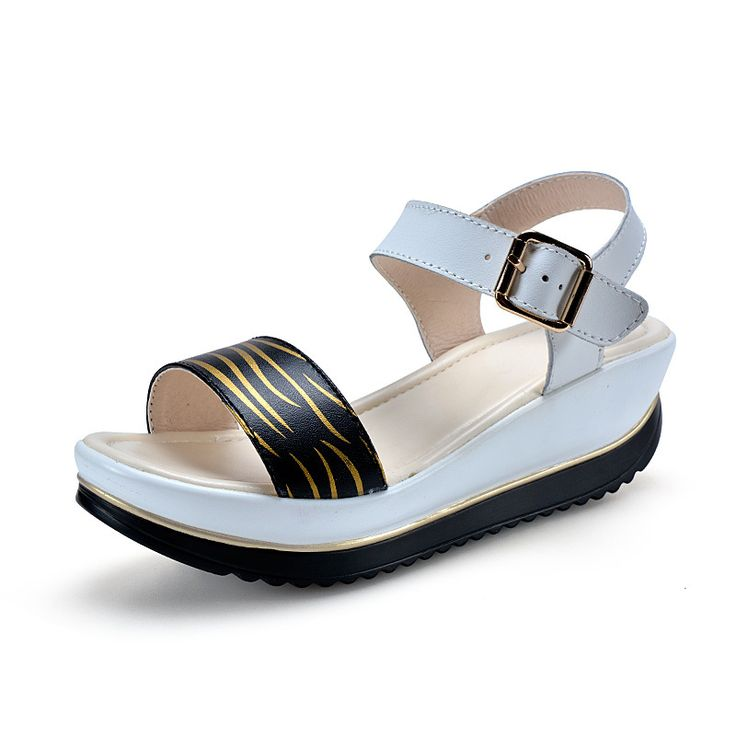 Cheap wedge sandals, Buy Quality platform sandals women directly from China platform sandals Suppliers:      end19098178525939   Summer Style 2015 Fashion Platform Sandals Women pumps Genuine Leathers Trifle shoes Ladi