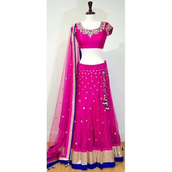Elagant Pink Designer Half Saree | Buy Online Lahenghas | Elegant Fashion Wear Price;10800 #latest #pink #halfsaree