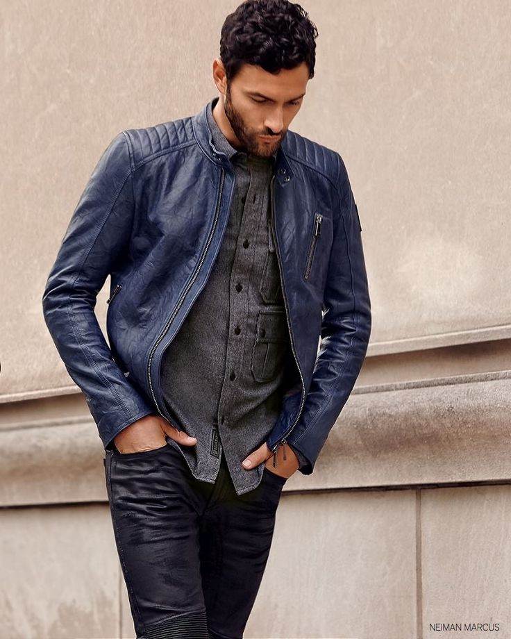 Noah Mills Dons Fall 2014 City Fashions for Neiman Marcus