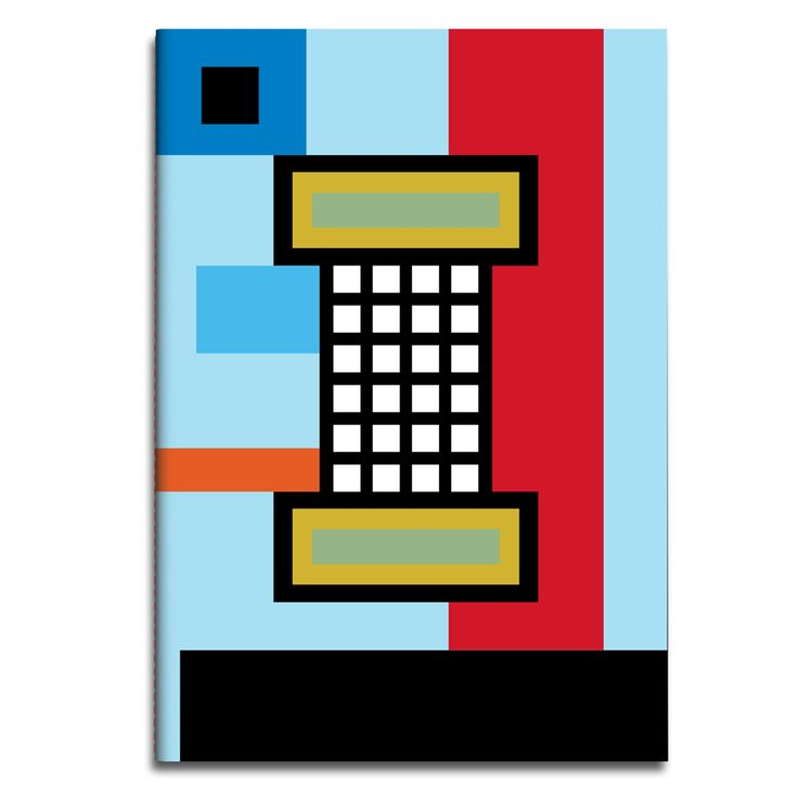 Rubberband notebook by Nathalie Du Pasquier
