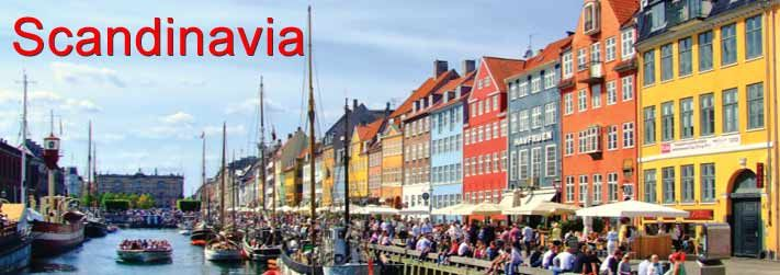 Scandinavia Holiday Packages - Europe Group Tours best Tour operator have Excited Plan for Scandinavia Vacation tour packages 2014 for families, Best Vacation Packages for Scandinavia with spacial offers.
