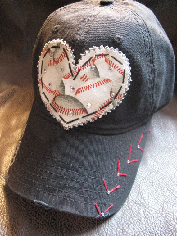 Baseball MOM Customized Crystal Vintage Baseball by BlingirlSpirit
