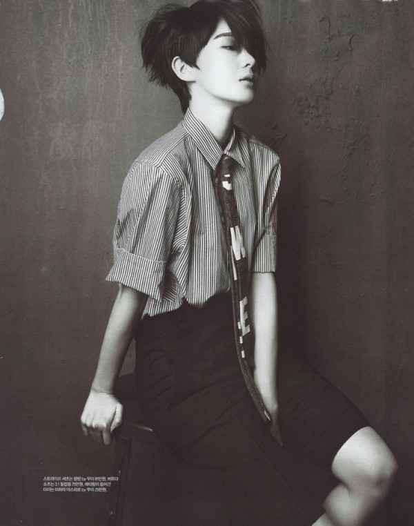 Kang Min-kyung from Davichi