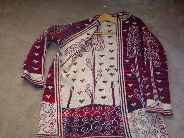 Ravelry: Klarcsi's Double-knit jacket
