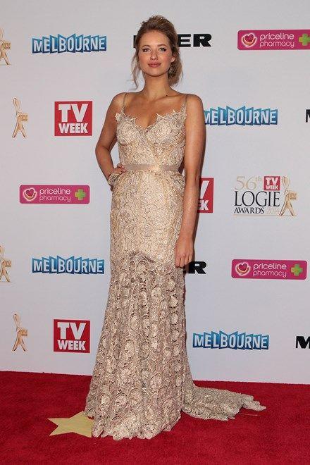 Georgia Young Couture // Kassandra Clementi //  Logies Awards 2014 Best dressed Cosmopolitan Magazine