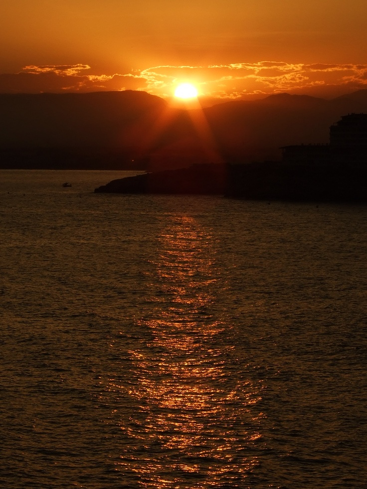 Salou sunset