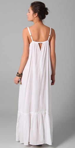 Mara Hoffman    Embroidered Peasant Cover Up Dress  Style #:MARAH40091
