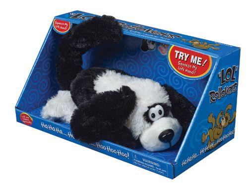 Laughing Dog Toy Video