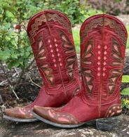 Old Gringo Monarca Red Boots L026-39 Picture