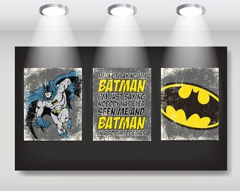 Lego Batman Superhero Art Print Set Qty by GraphicallyEverAfter