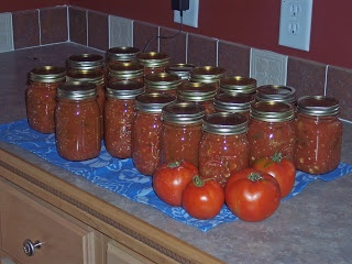 My Favorite Recipe: Homemade Canned Salsa