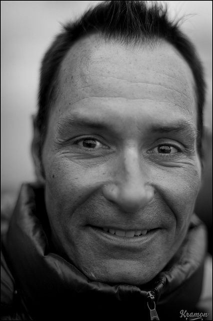 The legendary Erik Zabel checking out the action at 3 Days of West-Flanders (via Kristof Ramon)