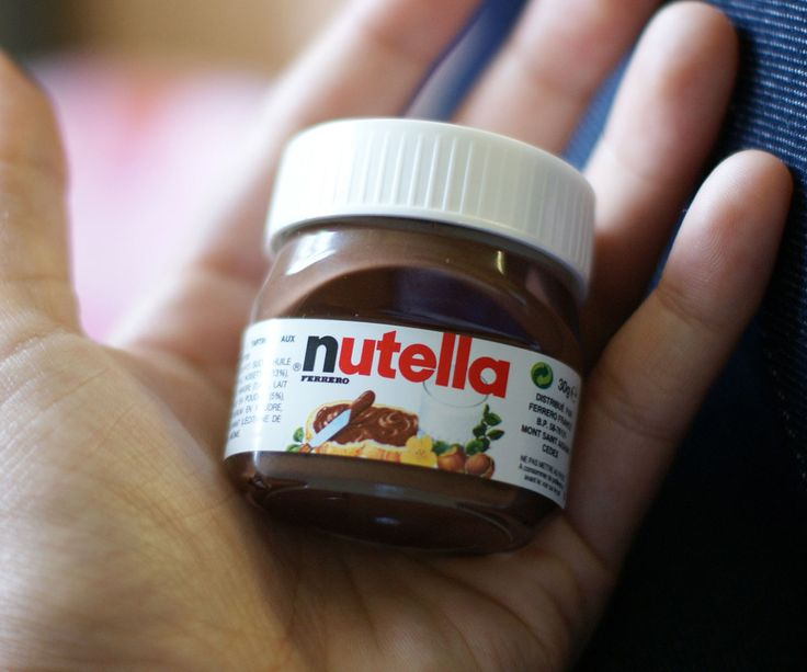 Mini Nutella Jars | DudeIWantThat.com