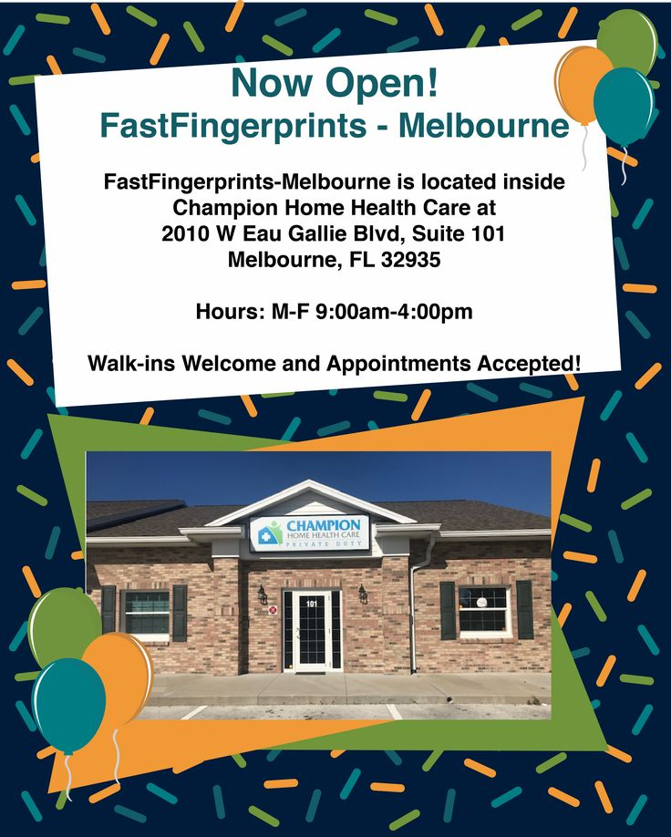 Grand Opening Melbourne FL Background check, Home