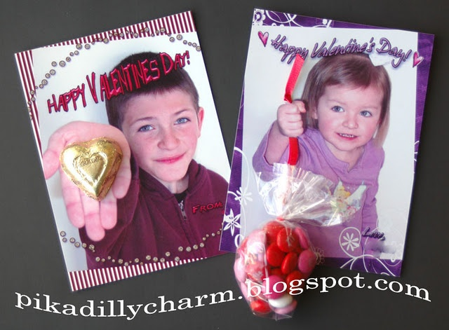 valentine day photo card