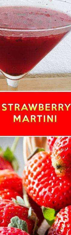 Original Cocktail Recipe: Strawberry Martini