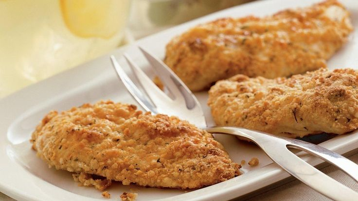 Who doesn't love fried chicken? An all time favourite, this chicken gets extra flavour from ranch dressing mix.
