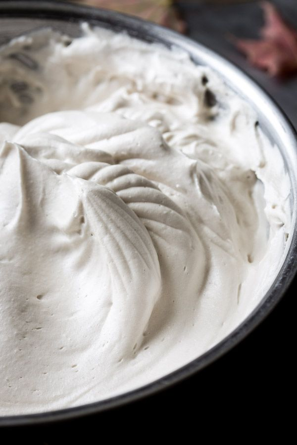 Seven Minute Maple Frosting {paleo and dairy-free} Healthy Seasonal Recipes by Katie Webster