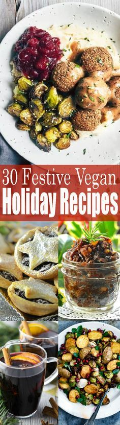 If you're looking for vegan Christmas recipes, this is the perfect post for you! This roundup includes vegan mains, vegan desserts, and vegan appetizers! Find more vegan recipes at veganheaven.org !