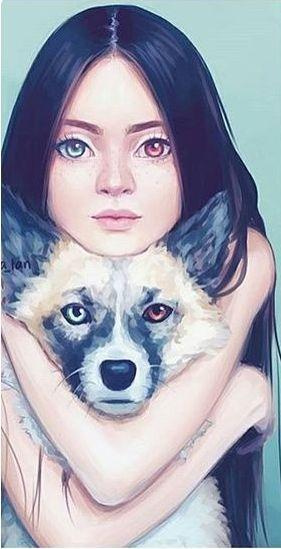 Imagen de draw, girl, and illustration