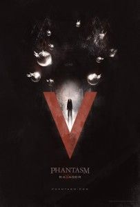 "Phantasm: Ravager Trailer is Here  Are you as excited for ""Phantasm: Ravager"" as I am? Check out the trailer below.  ""Phantasm: Ravager"" stars Angus Scrimm, Reggie Bannister, Bill Thornbury, Kat Lester and Michael Baldwin and was directed by frequent Don Coscarelli collaborator David Hartman. Coscarelli co-wrote Phantasm: Ravager with Hartman and produced it through his Silver Spheres company with executive producer Brad Baruh."