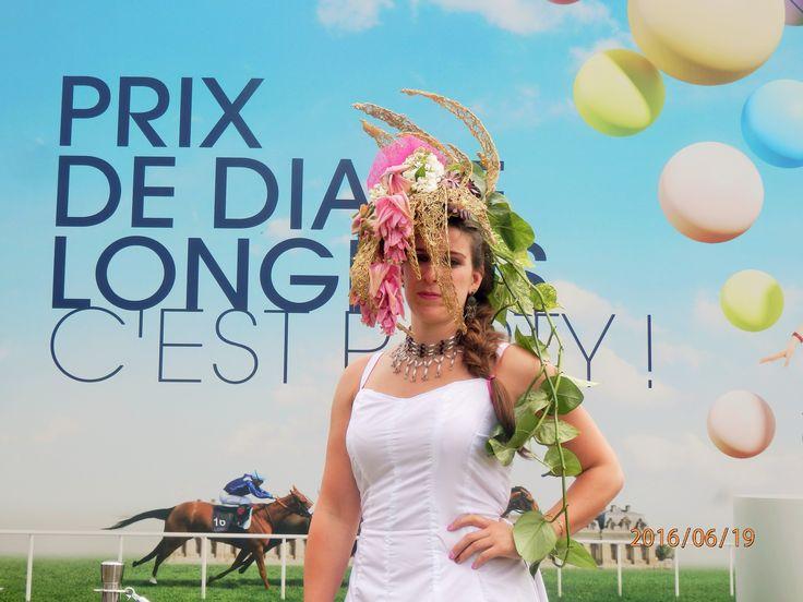 #prixdediane2016 #prixdediane #chantilly #chapeaufleurie #2016 #delaolivapolyne #pensee-event.com