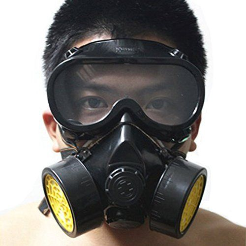 Rrimin Anti-Dust Paint Respirator Mask Glasses Goggles Set Soft Silica Gel Halloween Toys (Black 52726)||  Rrimin Anti-Dust Paint Respirator Mask Glasses Goggles Set Soft Silica Gel Halloween Toys (Black 52726) INR 988.00 View Details  6 of 6 people found the following review helpful   Want a health go through this   By  Gurvinder - See all my reviews  Verified Purchase(What is this?)  This review is from: Rrimin Anti-Dust Paint Respirator Mask Glasses Goggles Set Soft Silica Gel Halloween…
