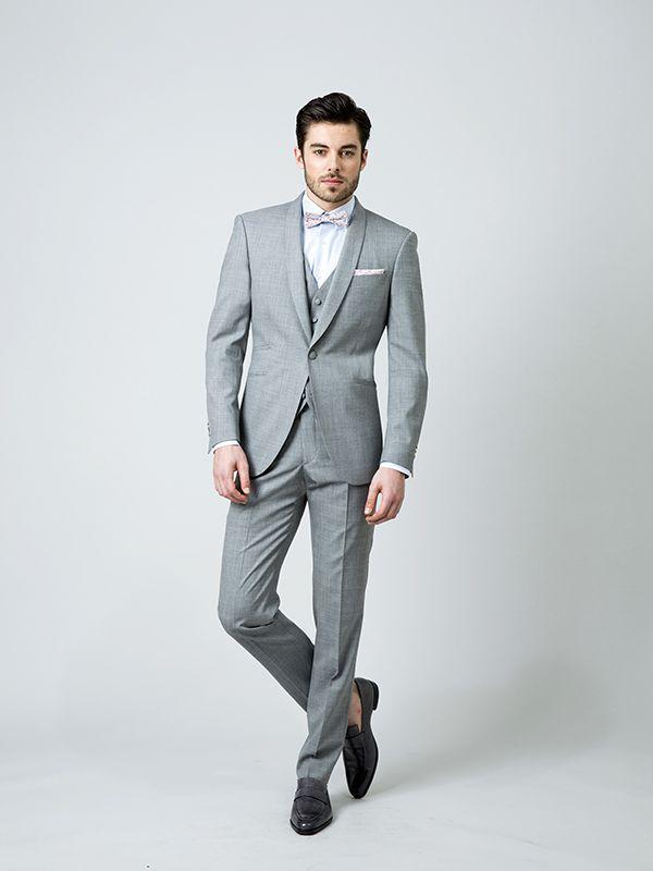 Assez Les 25 meilleures idées de la catégorie Costume de mariage gris  NW02