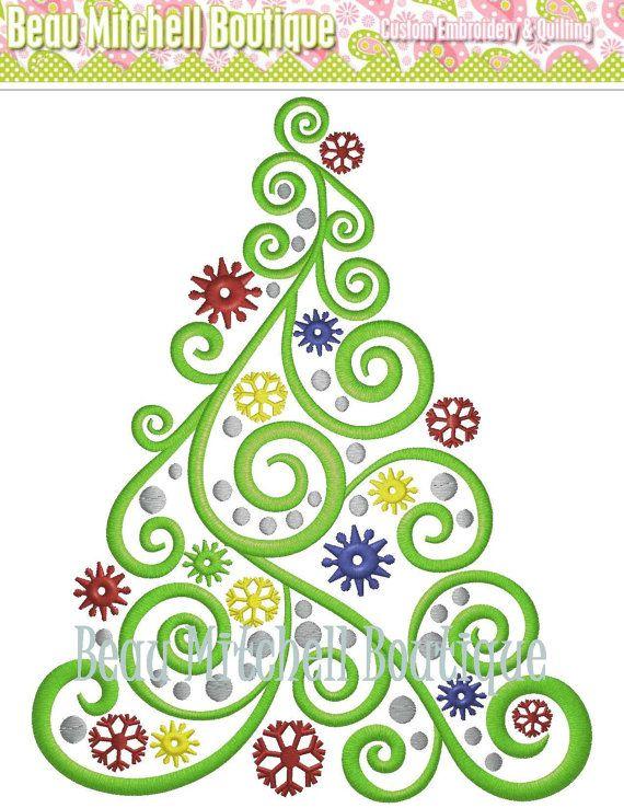 Christmas Ribbon Ideas For Trees