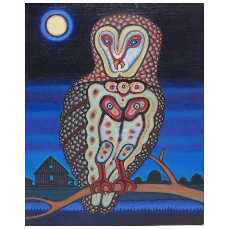 Michael Noland Painting, The Secret Fortune Teller