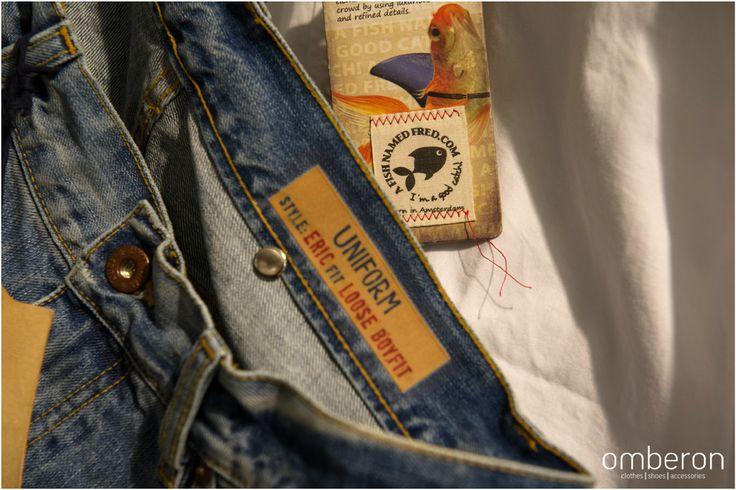 #Uniform #jeans. Available #instore #Omberon. Photo © Vicky Lafazani