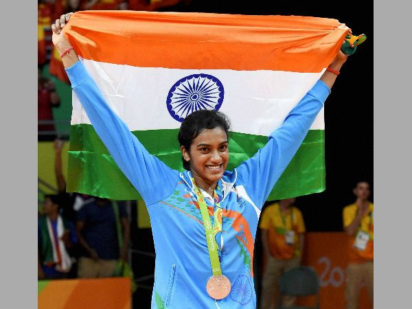 #PVSindhu has created a historical record break by winning silver in #badminton #Rio2016. Comes second medal for #India! Congratulations #sindhu. For #current #updates watch -www.chennaiungalkaiyil.com