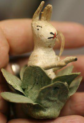 antique-german-spun-cotton-rabbit-head-lettuce-christmas-ornament_281019571670.jpg 273×400 pixels