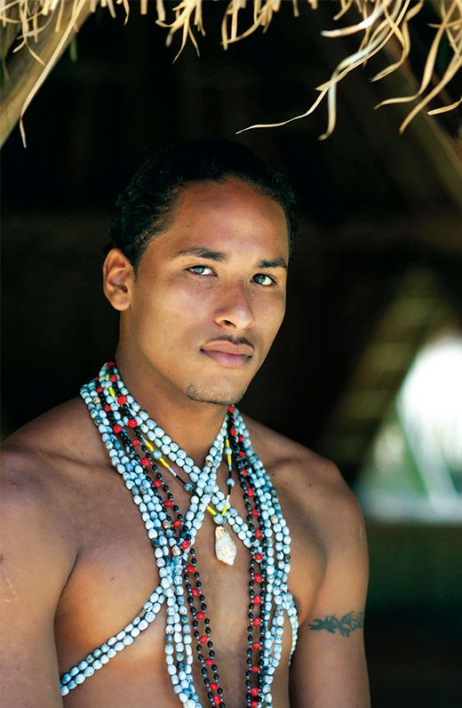 The man of the tribe.. The Kalinago tribe!