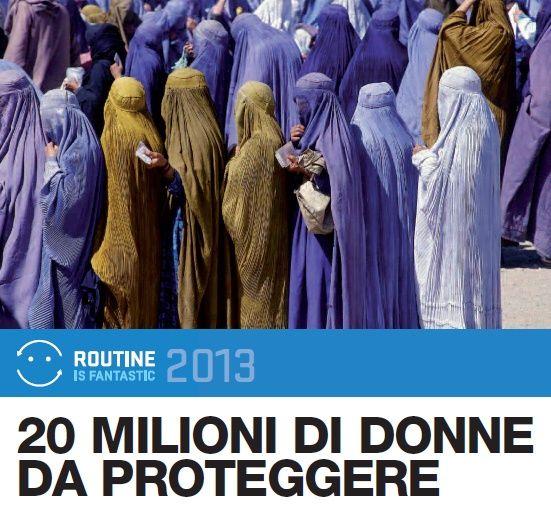 Routine is fantastic, un anno dopo. Parte a novembre la seconda edizione della campagna di sensibilizzazione e raccolta fondi dell'UNHCR. Se nel 2012 è stato raggiunto il traguardo di mandare a scuola quasi 12.000 bambini, quest'anno l'obiettivo è realizzare un grande progetto dedicato a 20 milioni di donne e bambine rifugiate. www.unhcr.it