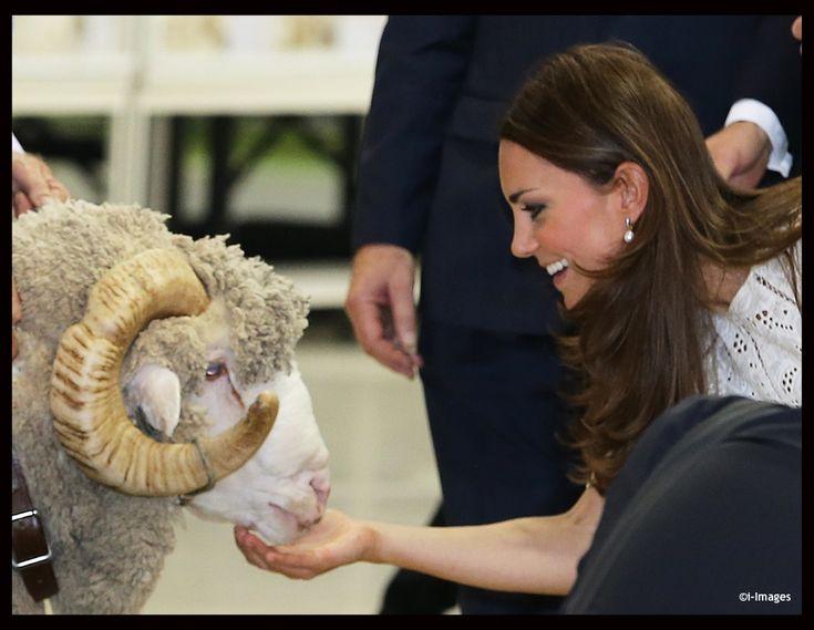 Will & Kate attended the annual Royal Easter Show in Sydney, Australia. Kate was wearing Zimmermann's Roamer Day Dress, a Natalie handbag from LK Bennett & Stuart Weitzman Minx Espadrille Wedges. - 4/18/2014