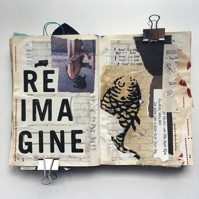 17 best images about art journals on pinterest art for Journal painting ideas