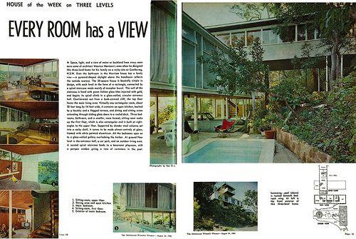 Morrison residence - Castlecrag, NSW - 1966 (Architect: Maurice Morrison)