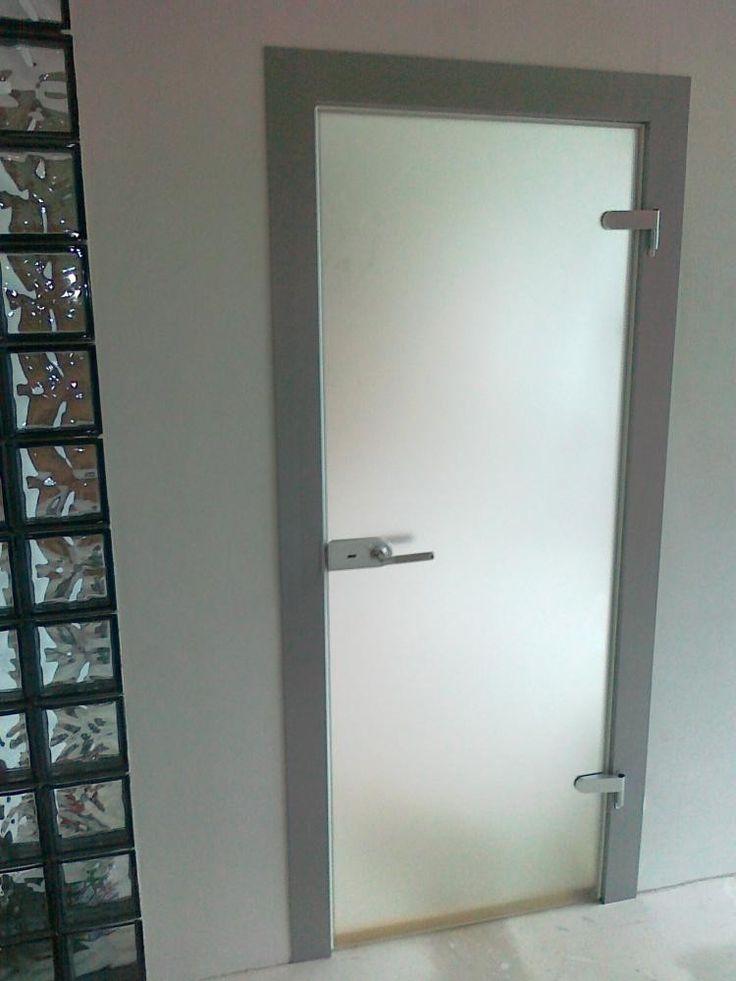 Проект - Стеклянные двери распашные, входные. Декоратор - «BOGEMA»