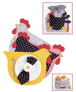 placemat bread bag pattern