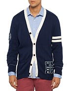 Tommy Hilfiger Long Sleeve Sander Cardigan #davidjones #bluesandgreens #newarrivals #autumnwinter2013