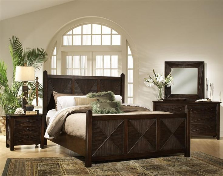Delightful Ocean View Wicker Bedroom Suite By South Sea Rattan. Bedroom Furniture ...