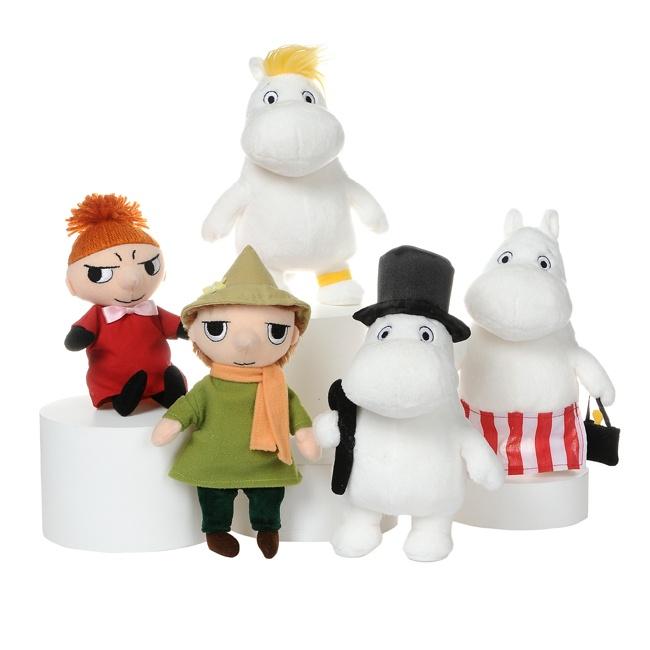 Moomin soft toys