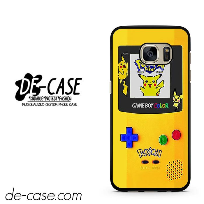 Gameboy Color Pokemon Edition DEAL-4597 Samsung Phonecase Cover For Samsung Galaxy S7 / S7 Edge