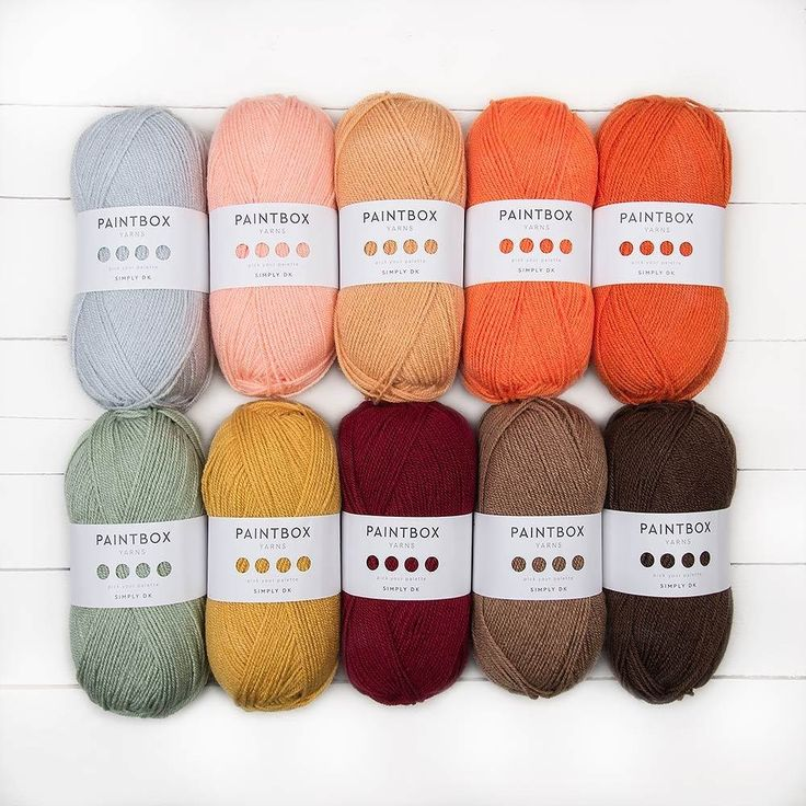 Paintbox Yarns Simply DK Colour Pack. Discover more Yarns by Paintbox Yarns at…