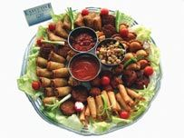 Wedding Food Platters Can Make a Big Difference to a Standard Buffet...: Food Platters, Buffet, Luv Luv, Wedding Platters, Wedding Foods, Oriental Platter, Cards Cards, Catering Products