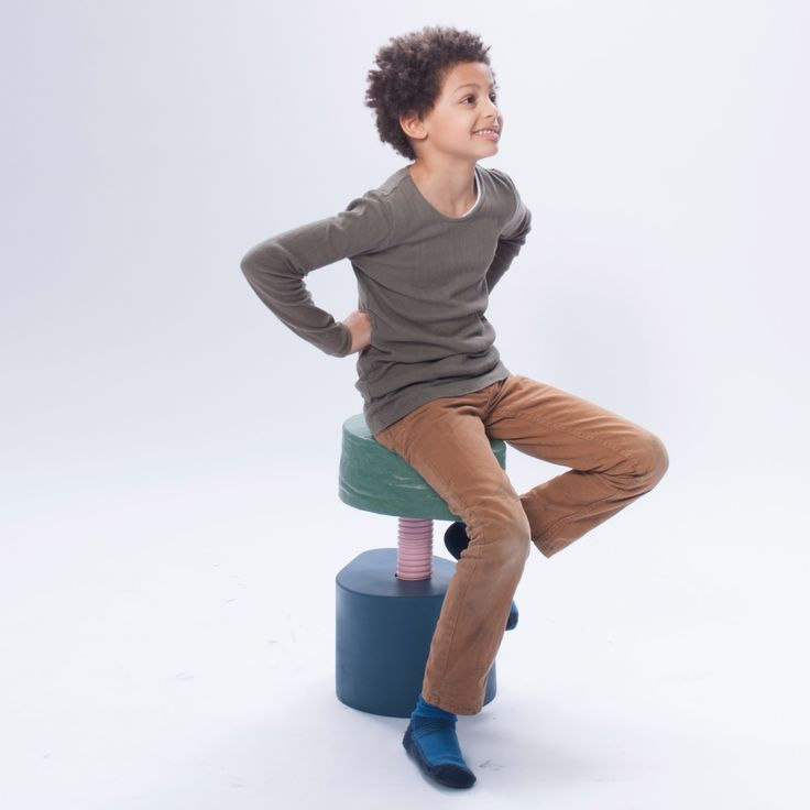 Looking to the year 2020, students devised different systems that would each help keep the children's focus – ranging from squishy seats to desks that turn into stools.