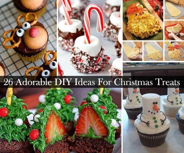 26 DIY Christmas Treats Anyone Can Make!